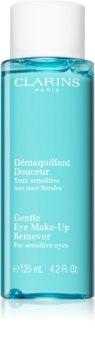 Clarins Gentle Eye Make-Up Remover за премахване на грим за всички видове кожа, включително и чувствителна