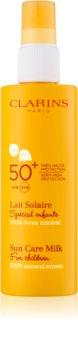 Clarins Sun Protection lotiune de protectie solara pentru cpoii SPF 50+