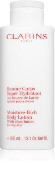 Clarins Moisture-Rich Body Lotion hidratáló testápoló tej száraz bőrre