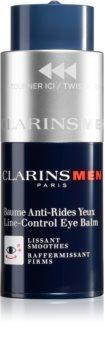 Clarins Men Line-Control Balm zpevňující oční balzám s vyhlazujícím efektem