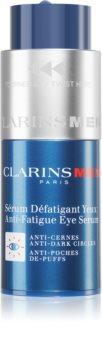 Clarins Men Anti-Fatigue Eye Serum Øjenserum til at behandle rynker, hævelser og mørke rande