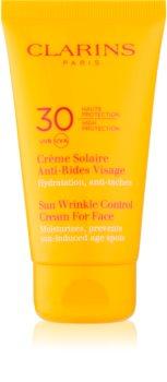 Clarins Sun Protection Sun Wrinkle Control Cream For Face SPF 30