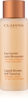 Clarins Liquid Bronze Self Tanning Liquid Bronze Self Tanning For Face and Décolleté