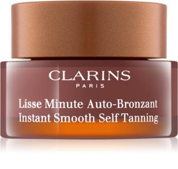 Clarins Sun Self-Tanners samoopalovací pěna na obličej, krk a dekolt