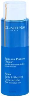 Clarins Body Specific Care gel doccia e bagno rilassante con oli essenziali