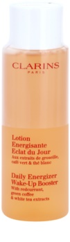 Clarins Daily Energizer Cleansing Gel Wake-Up Booster with Redcurrant, Green Coffee & White Tea Extracts
