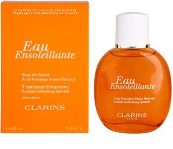 Clarins Eau Ensoleillante água refrescante para mulheres 100 ml