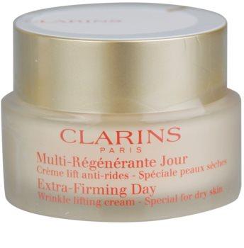 Clarins Extra-Firming creme de dia para rugas para pele seca