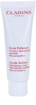 Clarins Gentle Refiner Exfoliating Cream крем-пілінг з натуральними мікрочастинками
