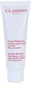 Clarins Gentle Refiner Exfoliating Cream пилинг-крем с натурални микрочастици