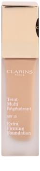 Clarins Face Make-Up Extra-Firming kremasti tekoči puder proti staranju kože SPF 15