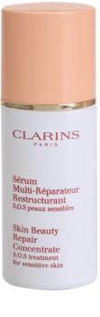 Clarins Gentle Care huile régénérante pour peaux sensibles sujettes aux rougeurs