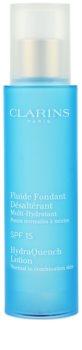Clarins HydraQuench trattamento idratante per pelli normali e miste SPF 15