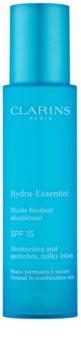 Clarins Hydra-Essentiel Milky Lotion hidratantni fluid SPF 15