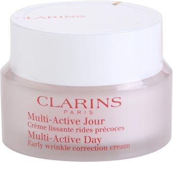 Clarins Multi-Active creme de dia primeiras rugas para todos os tipos de pele
