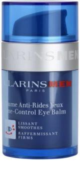 Clarins Men Line-Control Balm bálsamo reafirmante para contorno de ojos con efecto alisante