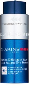 Clarins Men Age Control sérum na očné okolie proti vráskam, opuchom a tmavým kruhom
