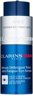 Clarins Men Age Control siero contorno occhi contro rughe, gonfiori e macchie scure