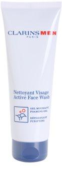 Clarins Men Active Face Wash gel spumant de curatare pentru barbati