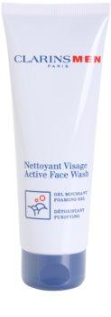 Clarins Men Active Face Wash tisztító habzó gél uraknak