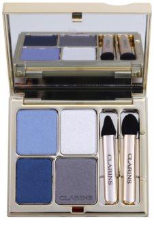 Clarins Eye Make-Up Ombre Minérale dlouhotrvající oční stíny se zrcátkem a aplikátorem
