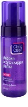 Clean & Clear Deep Cleansing pianka dogłębnie oczyszczająca