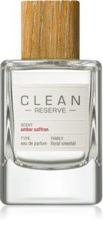 CLEAN Reserve Collection Amber Saffron parfémovaná voda unisex
