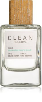 CLEAN Reserve Collection Warm Cotton Eau de Parfum Naisille