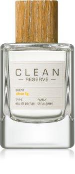 CLEAN Reserve Collection Citron Fig eau de parfum mixte