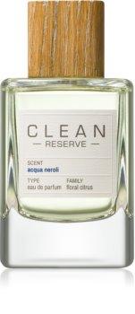 CLEAN Reserve Collection Acqua Neroli parfémovaná voda unisex