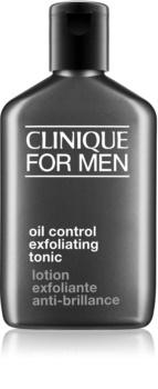 Clinique For Men™ Oil Control Exfoliating Tonic tonik zsíros bőrre