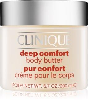 Clinique Deep Comfort manteiga corporal  para pele muito seca