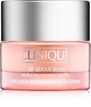 Clinique All About Eyes krema za predel okoli oči proti oteklinam in temnim kolobarjem
