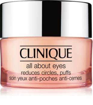 Clinique All About Eyes™ crema de ochi  împotriva ridurilor și a cearcănelor întunecate