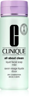 Clinique Liquid Facial Soap Flüssigseife für trockene und Mischhaut