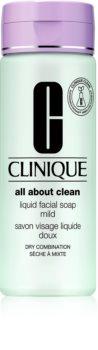 Clinique Liquid Facial Soap tekuté mýdlo pro suchou a smíšenou pleť
