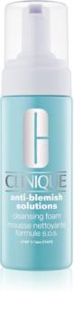 Clinique Anti-Blemish Solutions™ Cleansing Foam Renseskum til problematisk hud, akne