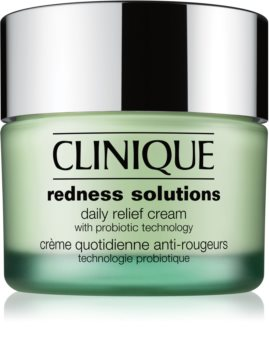 Clinique Redness Solutions Daily Relief Cream With Microbiome Technology денний заспокоюючий крем