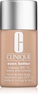 Clinique Even Better korektivni tekoči puder SPF 15