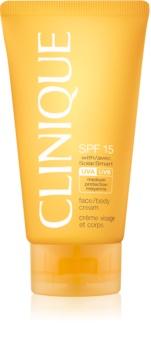 Clinique Sun krema za sunčanje SPF 15