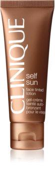 Clinique Self Sun™ Face Tinted Lotion önbarnító arckrém