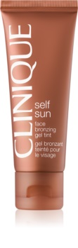 Clinique Self Sun bronzosító gél arcra