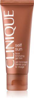 Clinique Self Sun gel abbronzante viso
