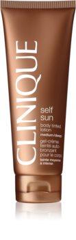 Clinique Self Sun™ Body Tinted Lotion samoopalające mleczko  do ciała