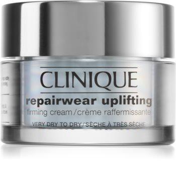 Clinique Repairwear™ Uplifting Firming Cream crema de fata cu efect de fermitate uscata si foarte uscata