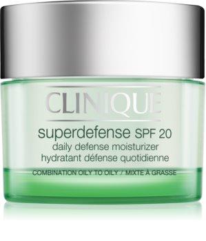 Clinique Superdefense dnevna hidratantna i zaštitna krema za mješovitu i masnu kožu