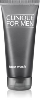 Clinique For Men™ Face Wash почистващ гел  за нормална към суха кожа