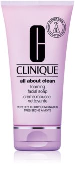 Clinique Foaming Sonic Facial Soap Creamy Foaming Soap for All Skin Types