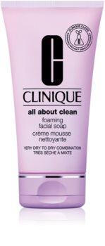 Clinique Sonic System krémes jól habzó szappan minden bőrtípusra