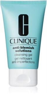 Clinique Anti-Blemish Solutions™ Cleansing Gel tisztító gél a bőr tökéletlenségei ellen
